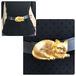 VINTAGE KITTY CAT BELT